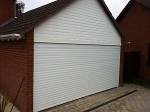 Insulated Roller Double Door Any Colour Installed Garage Door