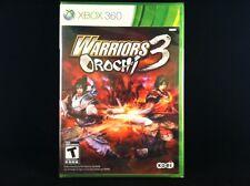 Warriors Orochi 3 (Xbox 360) Brand New / Factory Sealed /