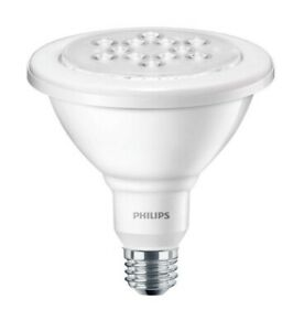 Philips 90-Watt Bright White PAR38 LED Wet-Rated Outdoor Security Flood Light