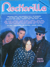 ROCKERILLA 88 1987 Primal Scream Flaming Lips Sugarcubes Droogs Fortunate Sons