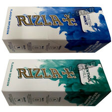 NEW RIZLA FLAVOUR CARDS CARD - INFUSIONS OF FRESH MINT OR MENTHOL CHILL 25 PACKS
