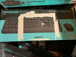 Logitech MK540 Advanced - Keyboard and mouse set - wireless - 2.4 GHz