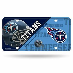 Tennessee Titans 12x6 Auto Metal License Plate Tag CAR TRUCK