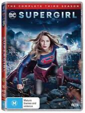 SUPERGIRL 3 2017-2018: DC Superhero Action TV Season Series - NEW Au Rg4 DVD
