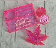 More details for rolling tray and ashtray gift set