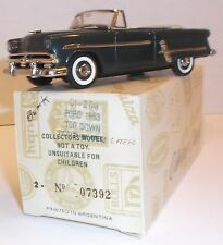 COLLECTOR CLASSICS 1953 Ford Convertible Certificate Die-Cast Mint Boxed 1:43