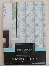 Cynthia Rowley Happy Elephant Shower Curtain - 72 x 72 - New in Package