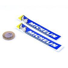 Michelin Neumáticos Pegatinas de vinilo en las carreras de moto coche clásico 100 mm x2