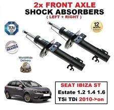 2x Amortiguadores delanteros para SEAT IBIZA ST Familiar 1.2 1.4 1.6 TSI TDI