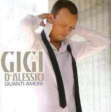 CD GIGI D'ALESSIO QUANTI AMORI