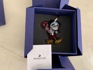 Swarovski Mickey Mouse Christmas Ornament Crystal Decoration 5412847 NEW