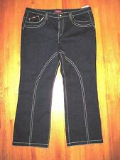 Plus Size Baby Phat Sequin Skinny Studded Cat Denim Jeans Size 24-32.5 NWT