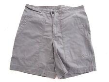 Mountain Hard Wear Womens Shorts 4 Grey Cargo Midi 100% Cotton Hiking Outdoor