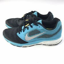 Nike Zoom Fly 2 Women 9.5 Black Teal Athletic Running Shoes Sneakers 707607-405