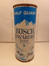 BUSCH BAVARIAN 16oz FLAT TOP BEER CAN LIKE #227-15  TAMPA FLORIDA  4 CITY