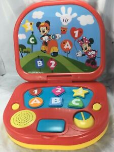 Mickey Mouse Clubhouse Disney Junior Learning Educational Laptop Toy by Kcare FS