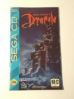 Bram Stoker`s Dracula Sega CD INSTRUCTION MANUAL ONLY ! very good condition