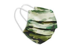 Waschbare Behelfsmaske Gesichts Nasen Mund Maske Baumwolle Bedeckung camouflage