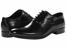 Men's Shoes Kenneth Cole New York Chief Council Leather Oxfords Black *New*