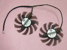 75mm MSI GTX 560 570 580 R6770 R6870 TwinFrozrII Dual Cooler Fan PLD08010S12HH B