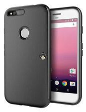 "Black Matte Slim Durable Gel TPU Anti-slip Cover Case Skin For Google Pixel 5.0"""