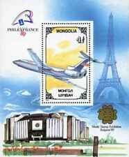 Timbre Avions Mongolie BF133 ** lot 11564
