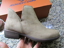 NEW ROCKET DOG TOLUA BOOTIES BOOTS SHOES SHOE BOOTS WOMENS 8.5 SAND  FREE SHIP