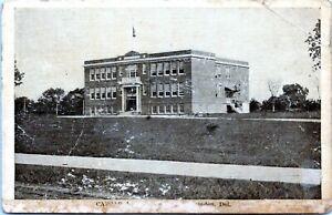 Camden Wyoming Delaware Postcard 1920 Caesar Rodney Old High School LJ