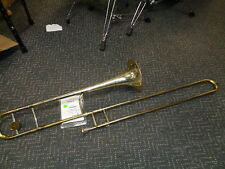 vintage H.N. White 2B King Silvertone trombone with mouthpiece Serviced