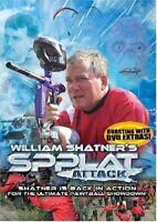 William Shatner's Spplat Attack DVD Movie / New Fast Ship! (OD-RD0068 / OD-209)