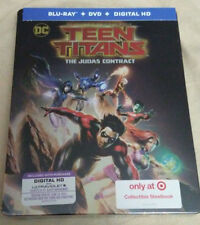 Teen Titans Judas Contract (Bluray +DVD+Digital HD) Steel Book -Target Exclusive