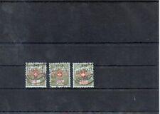 Switzerland 1926 Mi 8-10 Privat postage due  used 13.-Eu