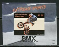 MICRONESIA 2015 EXTREME SPORTS IMPERFORATED  SOUVENIR SHEET MINT NH