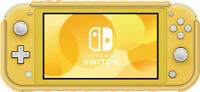 Hybrid System Armor - Yellow - for Nintendo Switch Lite [New ]