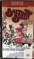 The Baltimore Bullet (VHS) Rae 1980 comedy stars James Coburn and Omar Sharif