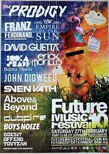 PRODIGY EMPIRE OF SUN RARE 2010 A3 PROMO POSTER FUTURE MUSIC FESTIVAL AUSTRALIA