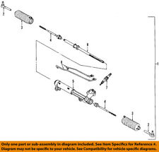 GM OEM-Rack And Pinion Complete Unit 26055468