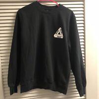 PALACE Skateboards OG Tri Ferg Black Sweatshirt - Youth XL/Women's Small - Used