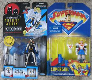 Batman Series 1997 Batgirl / Superman Series 1998 Supergirl Action Figures