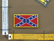 "Ricamata / Embroidered Patch ""Dixieland Flag"" with VELCRO® brand hook"