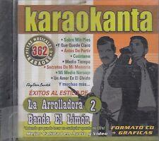 LA AROLLADORA BANDA EL LIMON 2 Karaoke Nuevo SEALED