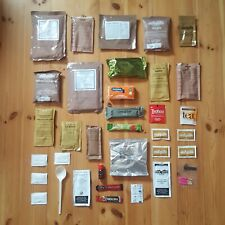 New British Army 24h MRE UK Military Ration Survival Champing Meal Ready to Eat