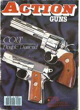 ACTION  GUNS N°100 COLT DOUBLE DIAMOND / SAFARI DE BARNETT / COUTELIER AMERICAIN
