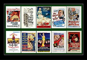 DORIS DAY  - FILM POSTER POSTCARD SET # 3