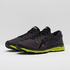 ASICS Gel-kayano 24 Mens Black Support Running Shoes UK 7 EU 41.5 Ln38 21