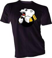 Traktor Chelyabinsk KHL Russian Jersey Hockey Black T-Shirt NEW Russia s-4xl