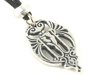 Soulmate, Handmade pewter pendant, Find your soulmate