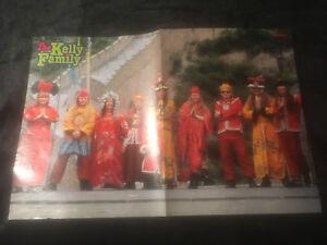 Kellys in China (Kelly Family) und Mr. President - Bravo Poster - 90er Jahre