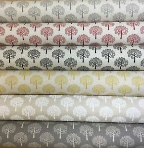 Chatham Glyn MULBERRY TREES ,Linen Look Fabric for Curtain/ Upholstery/Cushions