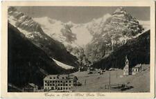 1934 Trafoi - m. 1541 Hotel Bella Vista Panorama montagne - FP B/N VG